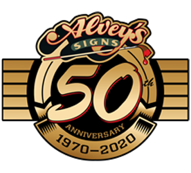Alvey's Signs 50th Anniversary
