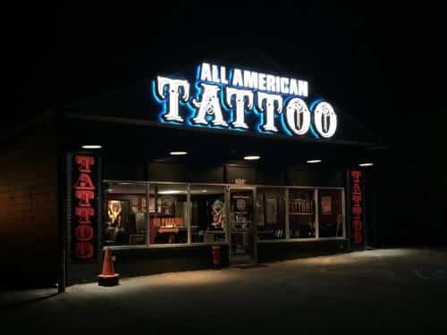 ALL AMERICAN TATTOO