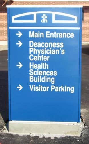 deaconess-directional-sign