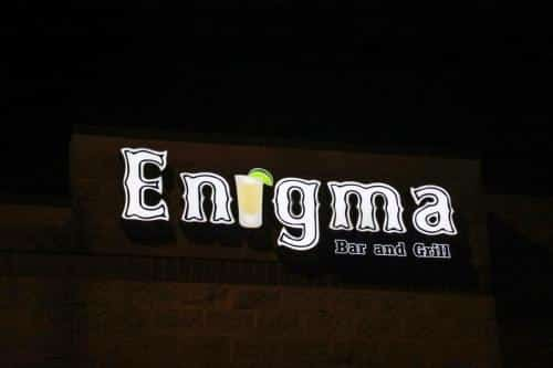 enigma-led-sign