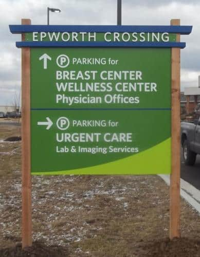 epworth-crossing-directional-sign