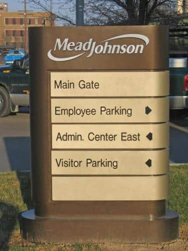 mead-johnson-directional-sign