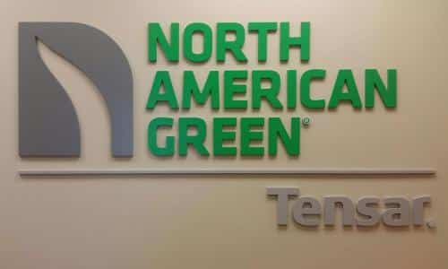 north-american-green-indoor-sign