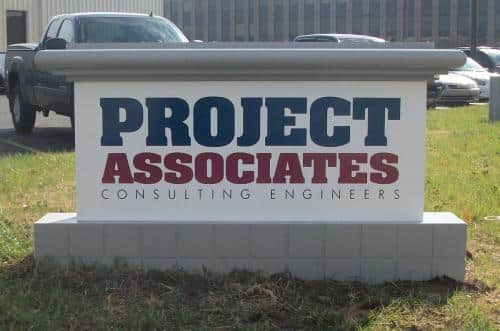 project-associates-outdoor-sign