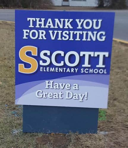 scott-elementary-exit-sign